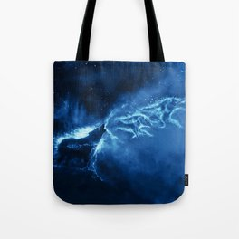 Paint The Earth With My Song ( Blue ) Tote Bag