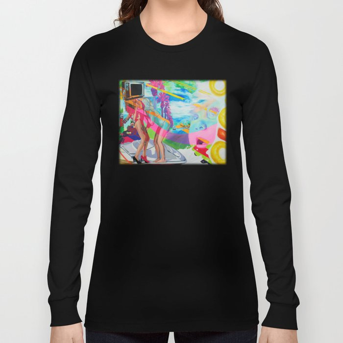 036bceaf10e The Boob Tube Long Sleeve T-shirt by ashley bell