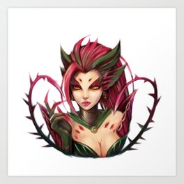 Zyra: The rise of the Thorns Art Print