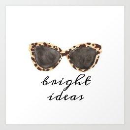 Bright Ideas Art Print