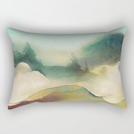 Forest Haze Rectangular Pillow