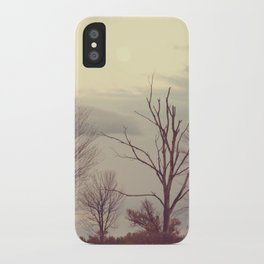 Over the Ridge at Dusk iPhone Case