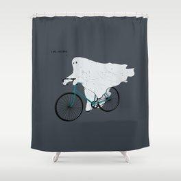 Negative Ghostrider G Shower Curtain