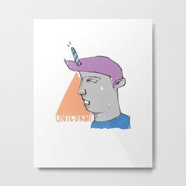 We are all Unicorni Metal Print