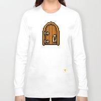 door Long Sleeve T-shirts featuring Door by HOVERFLYdesign