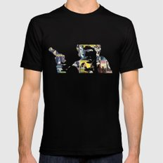 Han Shot First LARGE Mens Fitted Tee Black