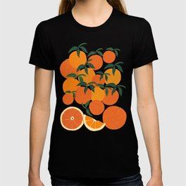 Orange Harvest - Blue T-shirt