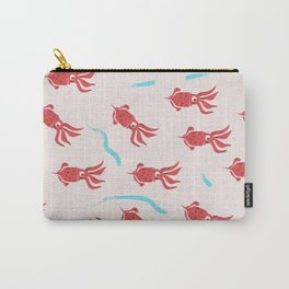 Squid vintage pattern Carry-All Pouch