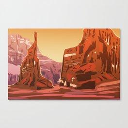Valles Marineris Canvas Print
