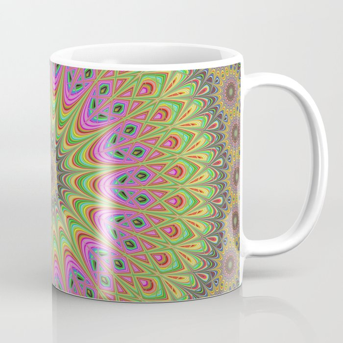 Floral ornament mandala Coffee Mug