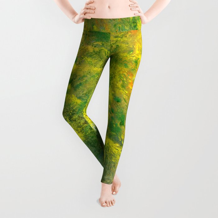 easy green and a live Leggings