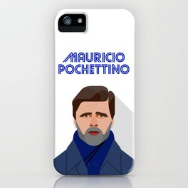 Mauricio Pochettino Tottenham Hotspur FC Manager iPhone Case