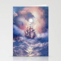 storm Stationery Cards featuring Perfect storm.  by Viviana Gonzalez