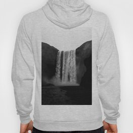 The Waterfall (Black and White) Hoody