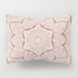 Jin Pink Mandala Pillow Sham
