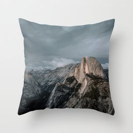 Yosemite's Half Dome Throw Pillow