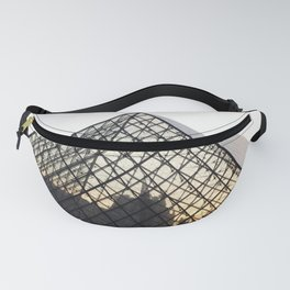 Abstract Louvre Pyramid Fanny Pack