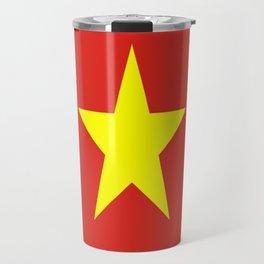 Flag Of Vietnam Travel Mug