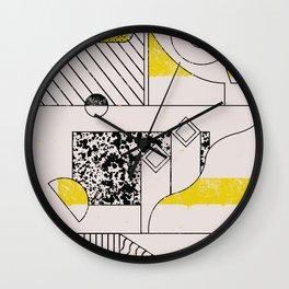 C-O-double-M-O-N Wall Clock