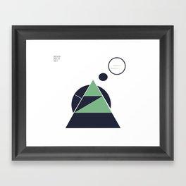 casa della natura Framed Art Print