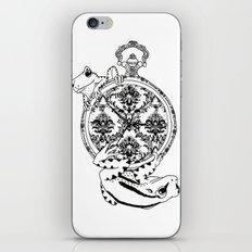 Frog Watch iPhone & iPod Skin