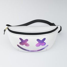 Marshmello Purple Galaxy Fanny Pack