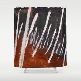 Interconnected Shower Curtain