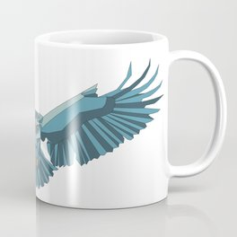 Geometric flying eagle Coffee Mug