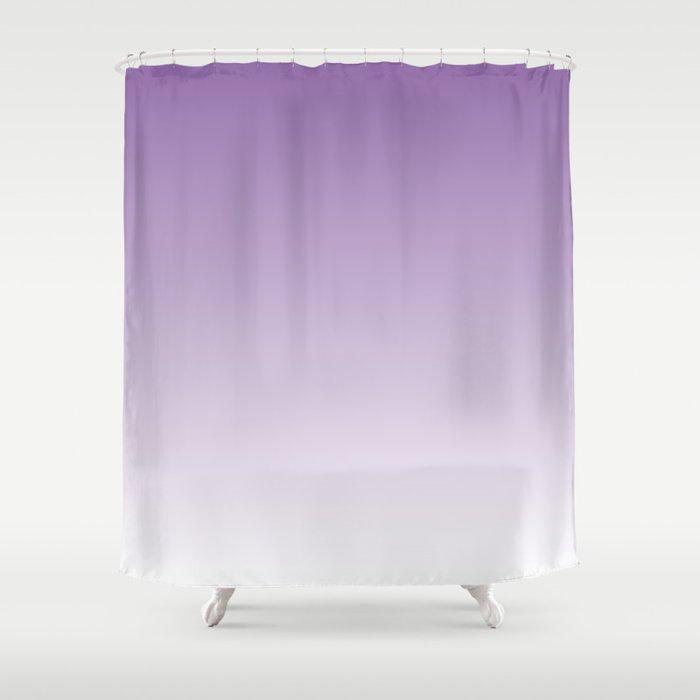 Lavender Ombre Shower Curtain