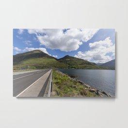 Road at Kevin's way Metal Print