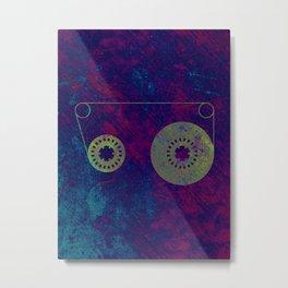 Sound Lines Metal Print