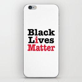 BLACK LIVES MATTER iPhone Skin