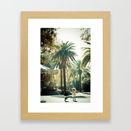 Playtime is Over Framed Art Print