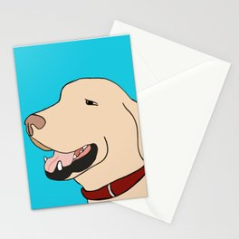 Sage A Yellow Labrador Stationery Cards
