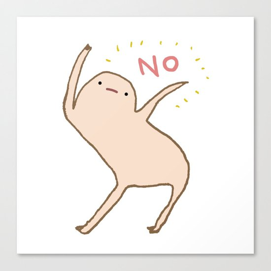 Honest Blob Says No by sophiecorrigan
