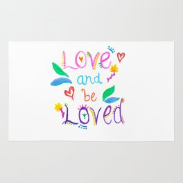 Love and be Loved Rug