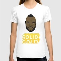 solid T-shirts featuring Solid Gold by Chase Kunz