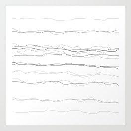 Sketchy No9 Art Print