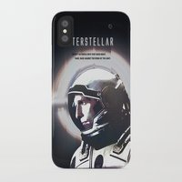 interstellar iPhone & iPod Cases featuring interstellar by Saalk