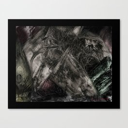 flesh wound Canvas Print
