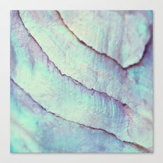 IRIDISCENT SEASHELL MINT by Monika Strigel Canvas Print