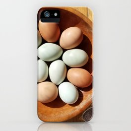Curious George and the Eggs iPhone Case