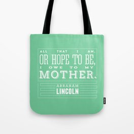 To My Mother Tote Bag