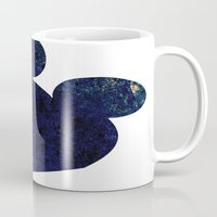 mouse Mugs featuring mouse by liva cabule