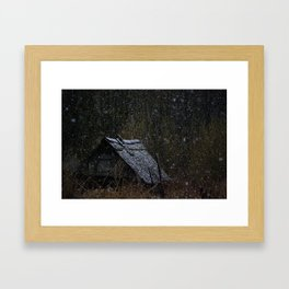 Echo Of the Russian Villages Framed Art Print
