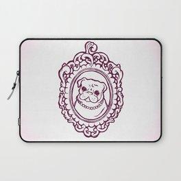 Pug Princess Laptop Sleeve