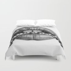 Sexy Lips Duvet Cover