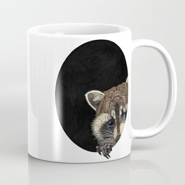 Socially Anxious Raccoon Coffee Mug