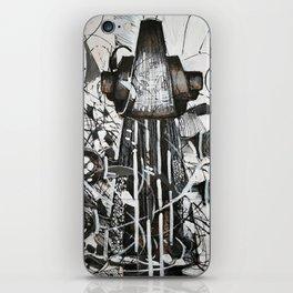 Upright bass iPhone Skin