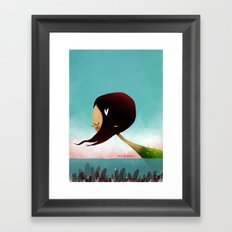 Sea Of Hearts Framed Art Print